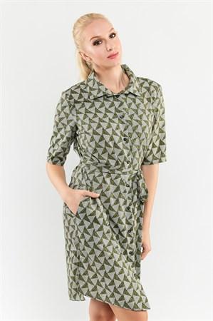 Платье-рубашка - фото 9517